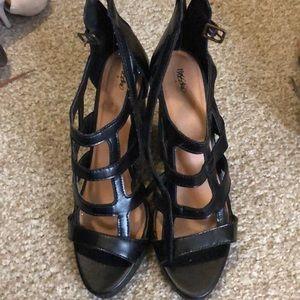 "Black 4"" Mossimo Supply heels"